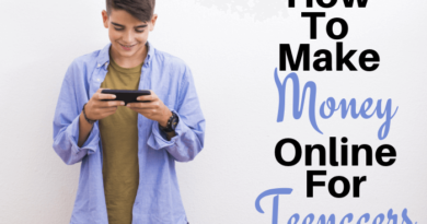 How to make money as a teen online from home?